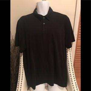 James Perse standard golf collar button shirt